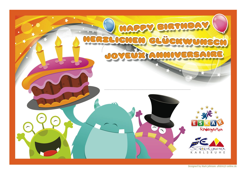 Happy Birthday Certificate